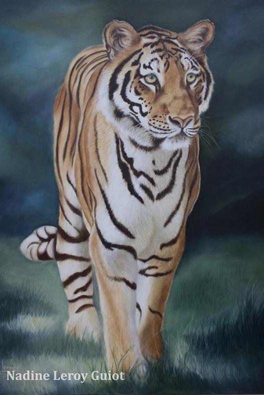 peinture tigre eric